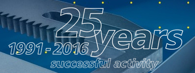 25 years successful activity